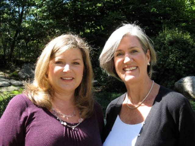 New Canaan Library presenters Robin Hoffman and Jodi Stiffelman began ArtScapades in 2009.