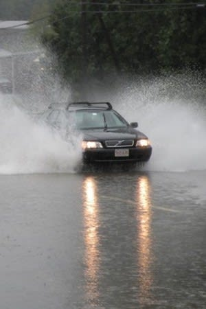 The National Weather Service has issued a flood watch for southern Westchester County and Fairfield County.