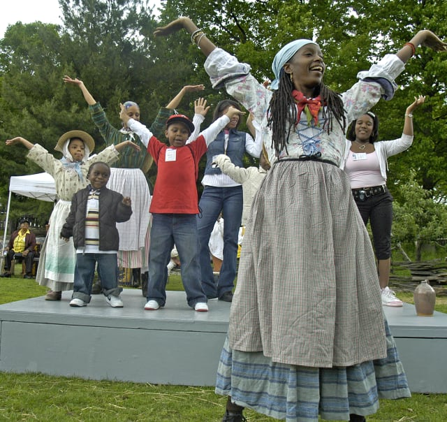 Dancing will be one of the highlights at the Discover Pinkster! Celebration at Philipsburg Manor.