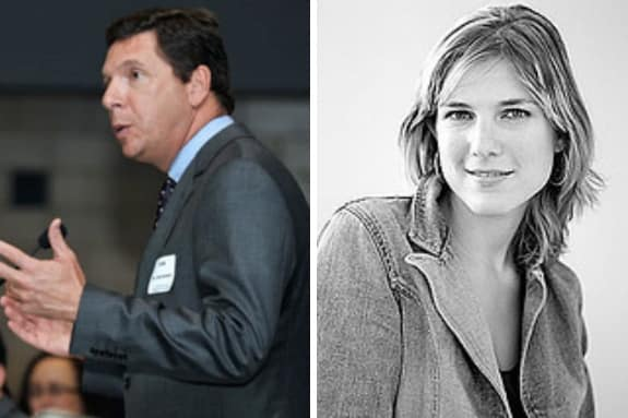 Dr. John Murphy, and author and educational futurist, Anya Kamenetz will speak at WestConn's commencement on May 9.