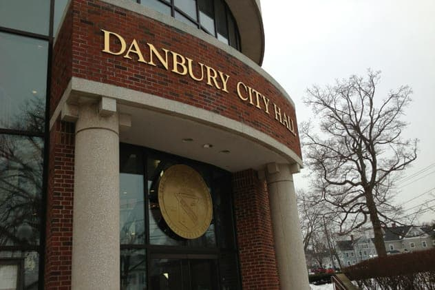 Residents can drop off their junk at Danbury City Hall on Saturday, May 3.