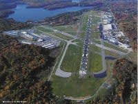Foliage along one of Westchester County Airport's runways could render it unusable.