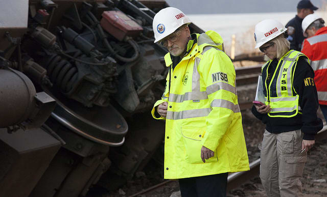 The Dec. 1 Metro-North derailment that killed four and injured 70 more prompted an investigation by the NTSB and later the Federal Railroad Administration.