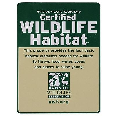 Rye Nature Center and the National Wildlife Federation will host the Rye Habitat Project to help make Rye a certified wildlife habitat.