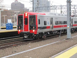 Metro-North has another 20 new M8 rail cars currently under inspection.