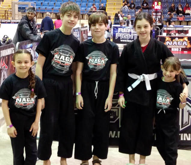 Eastchester students took home two first place medals in April at the North American World Championship Grappling Association Tournament.