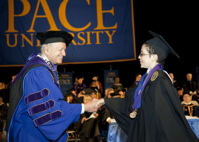 Pace University has announced dates for commencement for its New York City and graduate students.