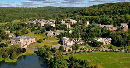 Colgate University is in Hamilton, N.Y.