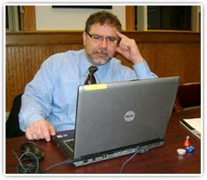 BOCES consultant John Krouskoff is helping the Bronxville School District transition its technology initiative.