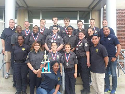 The Greenburgh Police Explorers took third place among 40 teams in the Connecticut Explorers event.