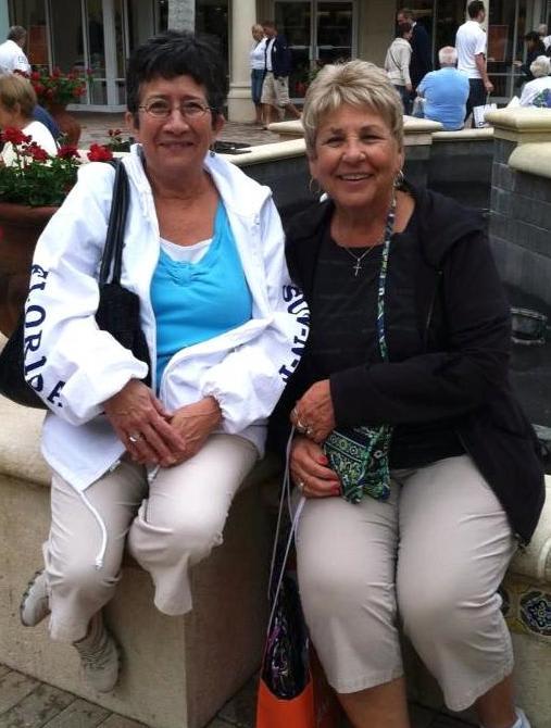Mount Vernon resident Louisa Guarascio with her sister, Yonkers native Lydia Kaplan at Ridge Hill.
