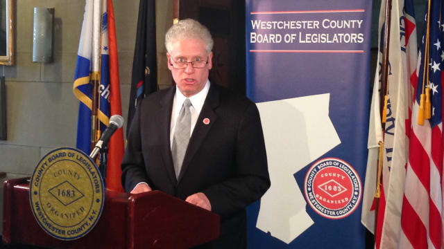 Westchester Board of Legislators Chairman Michael Kaplowtiz (D-Somers) announces they BOL's expanded role in fulfilling the 2009 fair and affordable housing settlement.