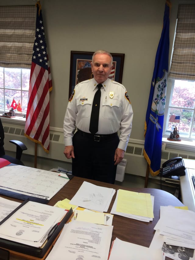 After 55 years of service in the Fairfield Fire Department, Fire Chief Richard Felner asked that the Fire Commission not renew his contract and plans to retire in July 2015.
