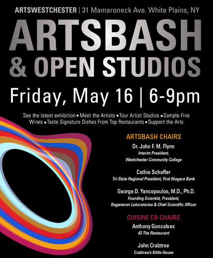 ArtsWestchester will host its ArtsBash and Open Studios event featuring the STEAM exhibition.