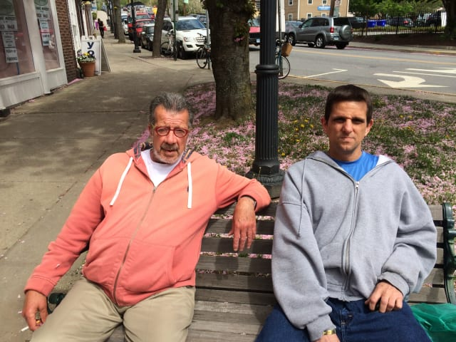 Fairfield residents John Muriano and Robert Gazsi both think that it's a great for the National Football League to have an openly gay player be so popular.