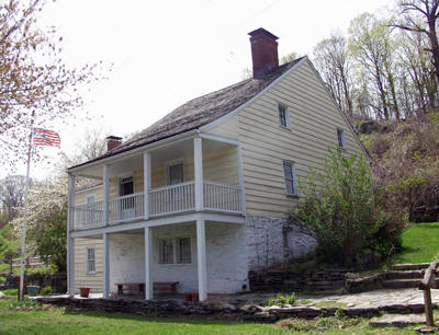 The flea market supports the Sherwood House, Sherwood House, which is one of the few remaining pre-Revolutionary War tenant farmhouses in the New York Metropolitan area