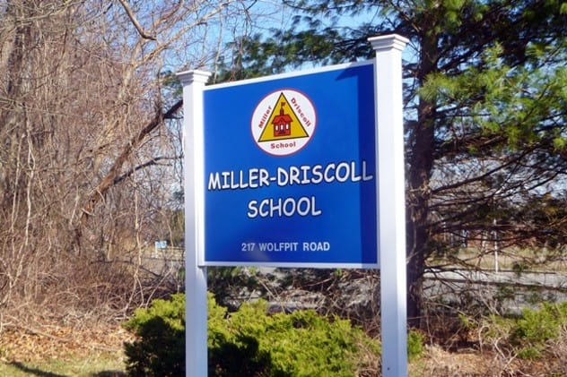 Wilton parents have filed paperwork with intent to potentially sue as many as 34 town employees for the alleged poor air quality at Miller-Driscoll School.