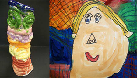 Students' art will be on display at West Patent Elementary School.