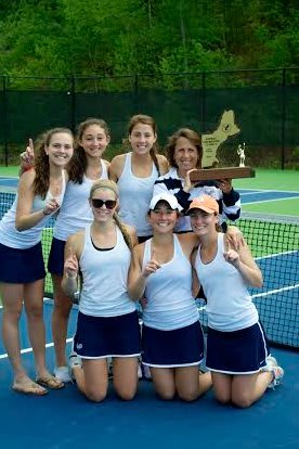 The Greens Farms Academy girls tennis team won the New England Prep School Athletic Council Class C championship on Sunday. See story for IDs.