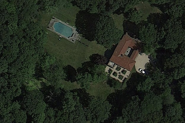 This Tuscan-style villa is now on sale in Croton-on-Hudson.
