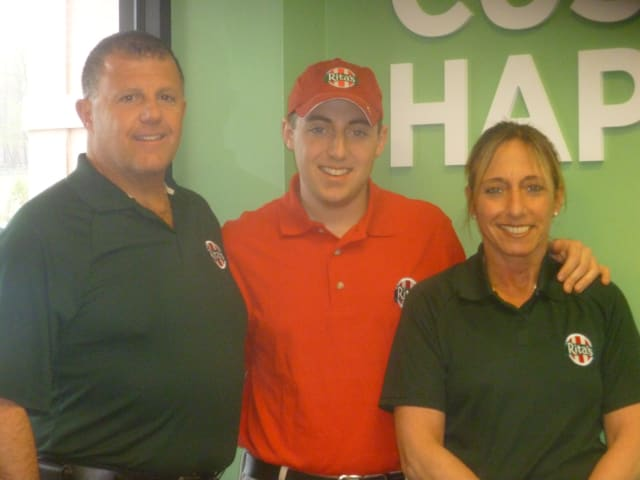 Joseph, Joey and Irene DeAngelis run Rita's in Peekskill.