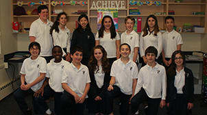 Villa Maria School of Stamford won a prestigious national award earning the school a $10,000 grant. Grade 6 and 7 students along with their teachers shared top spot in the America's Home Energy Challenge along with an Indiana school.