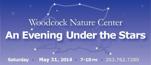 Wilton's Woodcock Nature Center will host the Evening Under the Stars fundraiser on Saturday, May 31.