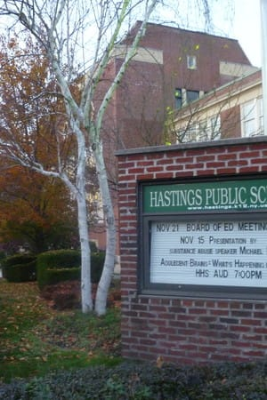 Hastings residents approved the 2014-2015 school budget of $44.6 million dollars Tuesday, May 20.