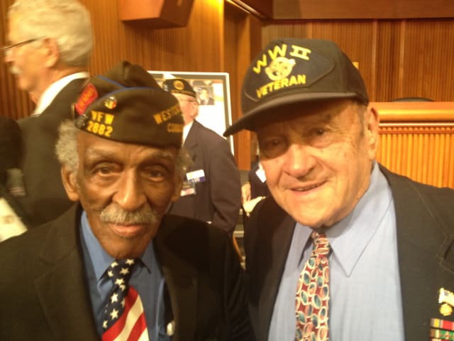 "Bill Moye, of New Rochelle, and Anthony ""Tony"" Marsella, of Mamaroneck, are Westchester seniors who have been designated for induction into the New York Senate Veterans Hall of Fame."