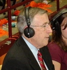 Brent Woody Musburger turns 75 on Monday.