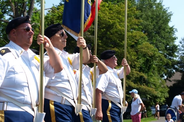 Veterans and other local groups will participate in Fairfield's Memorial Day Parade Monday.