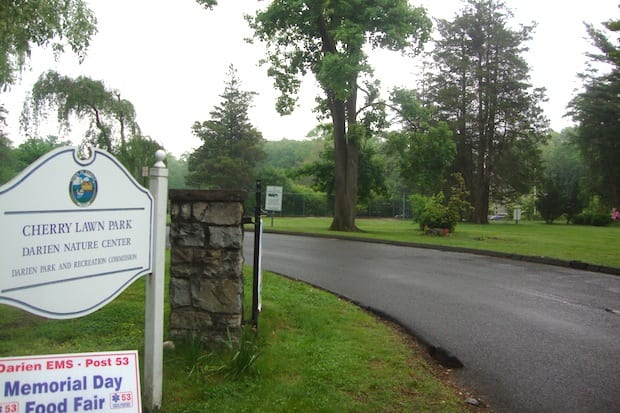 The Garden Club of Darien will use funds from its flower show to improve the entrance of Cherry Lawn Park