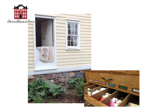 The Somers Historical Society and Somers Seed Lending Library are establishing a garden at the Wright Reis Homestead.