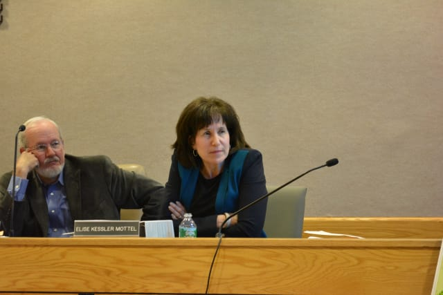 Elise Kessler Mottel, pictured at right, has ended her recusal from the Chappaqua Crossing retail rezoning petition.
