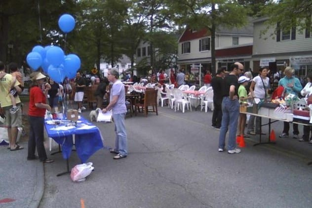 Scott's Corner's in Pound Ridge is home to the Antiques & Farmers/Bakers Market Saturday, May 24.