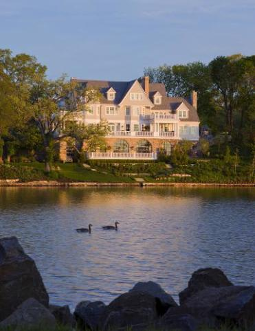 """This Rye home on Kirby Pond is up for an HGTV """"Doory Award"""" along with a waterfront cottage in South Salem."""