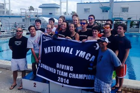 The New Canaan YMCA Whirlwind Diving team won the YMCA National Diving Championship in Fort Lauderdale, Fla.