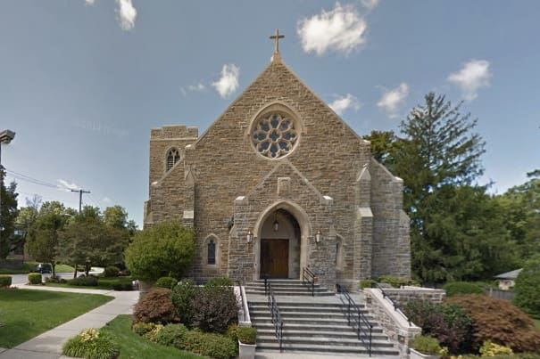 Police are investigating the vandalism of the Church of Annunciation in Yonkers.