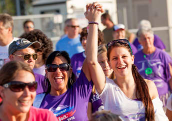 Somers will walk all night at Relay for Life to raise money to fight cancer.
