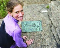 National Geographic Adventurer of the Year Jennifer Pharr Davis will speak at the Danbury Library.