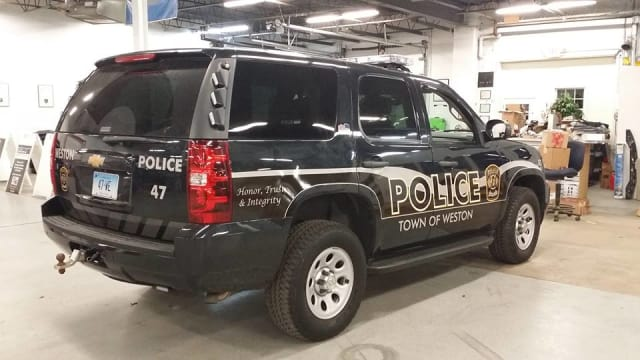 The Weston Police Department is getting three new 2014 Ford Police Interceptor utility vehicles.