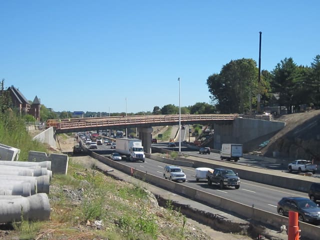 Blasting near the Interstate 95 and Route 7 interchange will resume on Tuesday, June 10.
