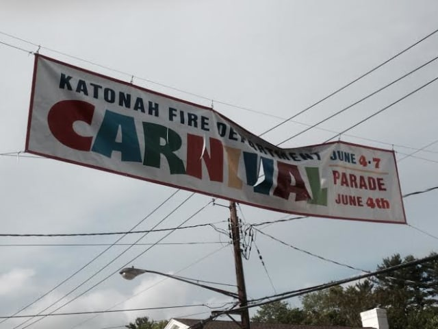 The Katonah Fire Department will host its annual carnival beginning Wednesday, June 4.