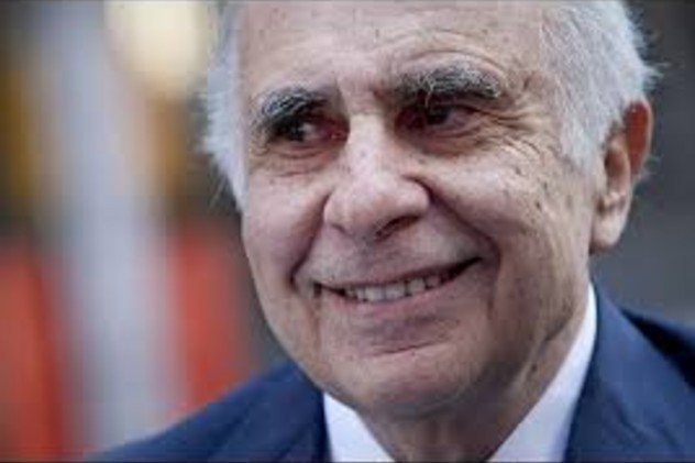 Carl Icahn, a 78-year-old billionaire, well-known investor and former Bedford resident.