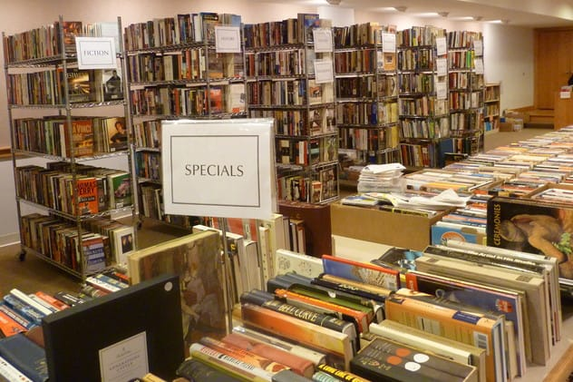 Thousands of books will be available at the New Canaan Library this weekend for the annual spring book sale.