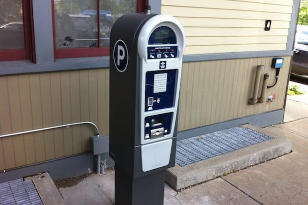 Newly installed pay kiosks at Darien's two train stations will replace the daily scratch-off vouchers currently in use.