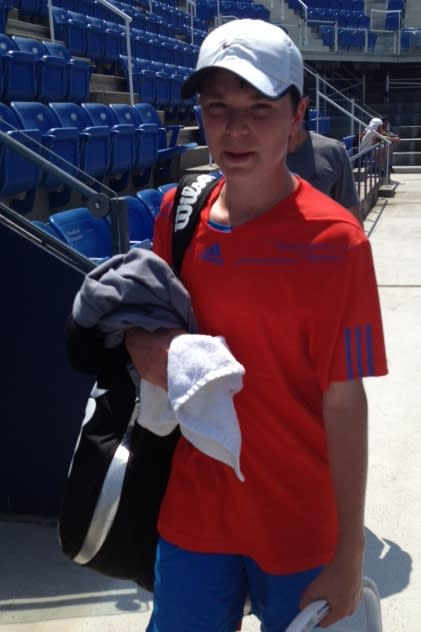 Harris Walker of South Salem attended a tennis camp for the top players in the nation in 8th and 9th grade recently at the National Tennis Center in Flushing, N.Y.