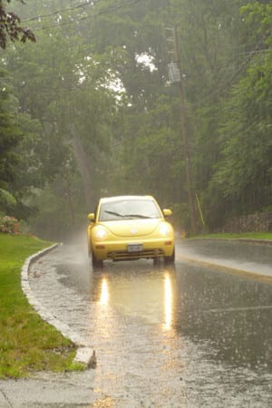 Rain will be a continuing threat throughout the week in Westchester County.