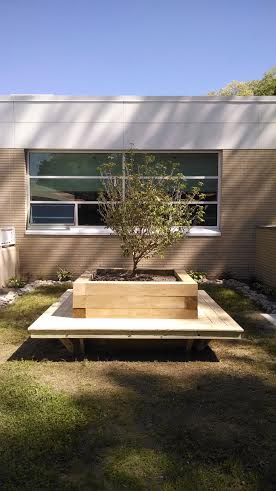 The new garden at the Greenburgh Library will be dedicated Wednesday, June 11 at 5 p.m.