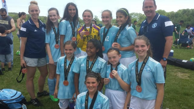 A Briarcliff girls soccer team was runner-up at New York State Cup.